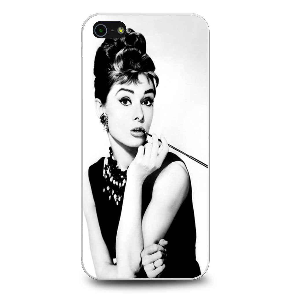 Audrey Hepburn iPhone 5/5s/SE case