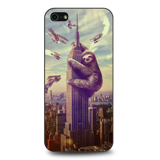 Sloth, Slothzilla Building Empire iPhone 5 5s SE case