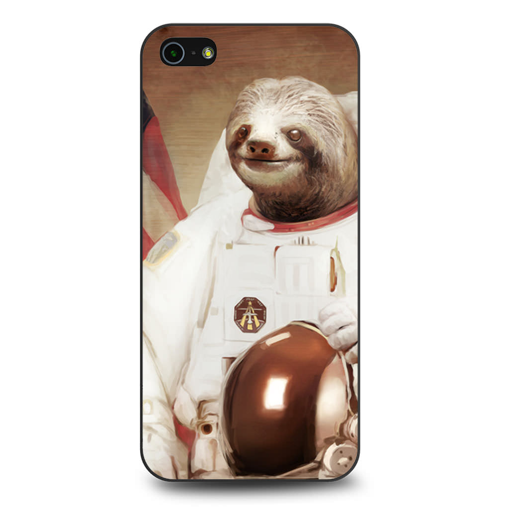 Astronaut Sloth iPhone 5 5s SE case