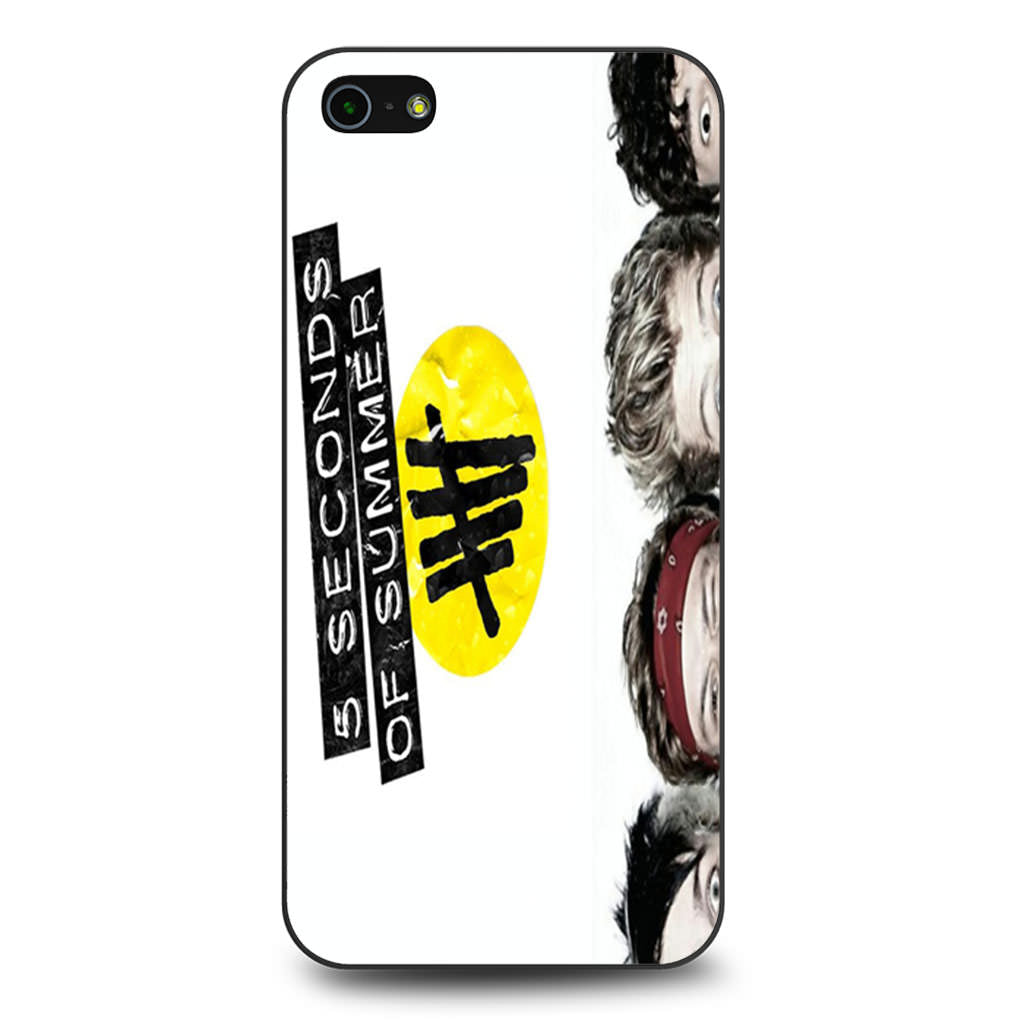 5 Seconds of Summer 5SOS Funny Eyes iPhone 5 5s SE case
