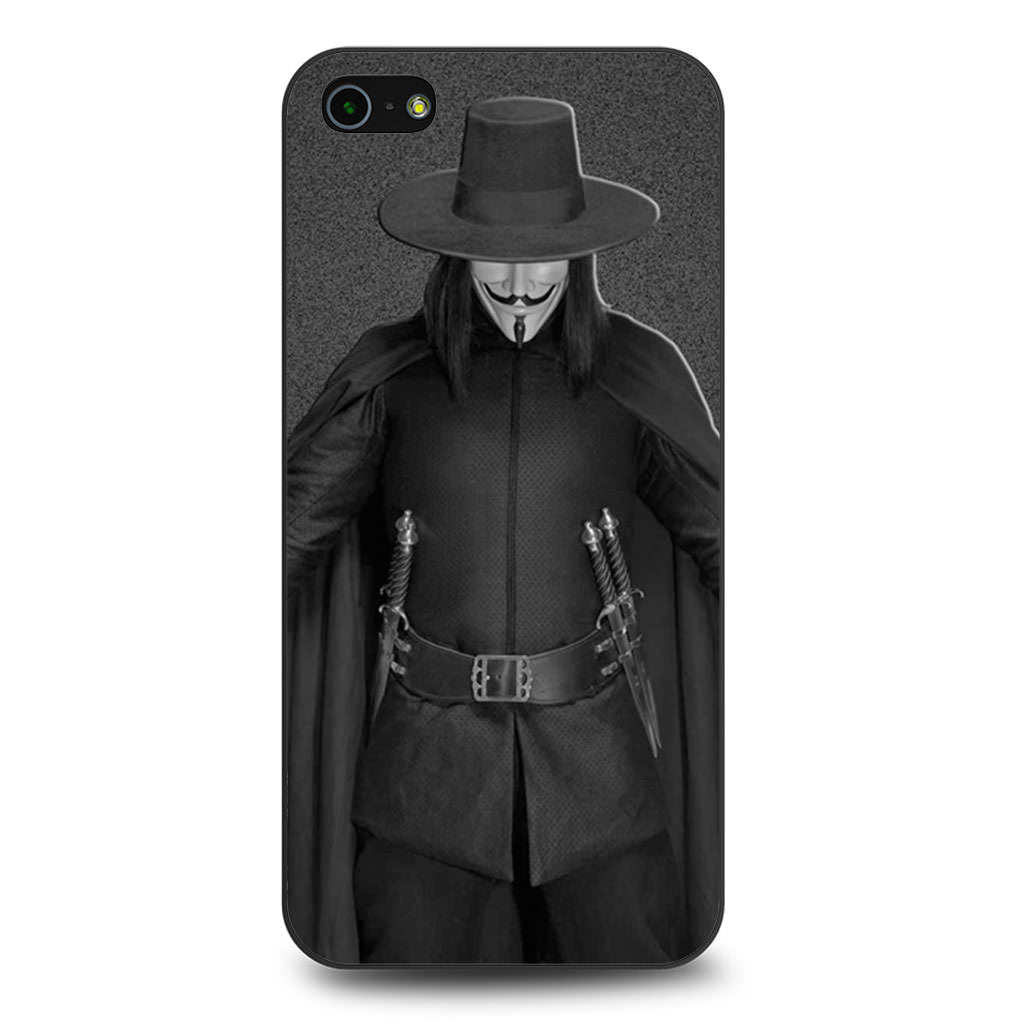 Anonymous Guy Fawkes Mask iPhone 5 5s SE case