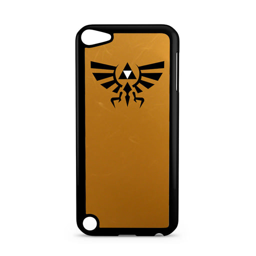 Zelda Triforce Golden iPod Touch 5 case