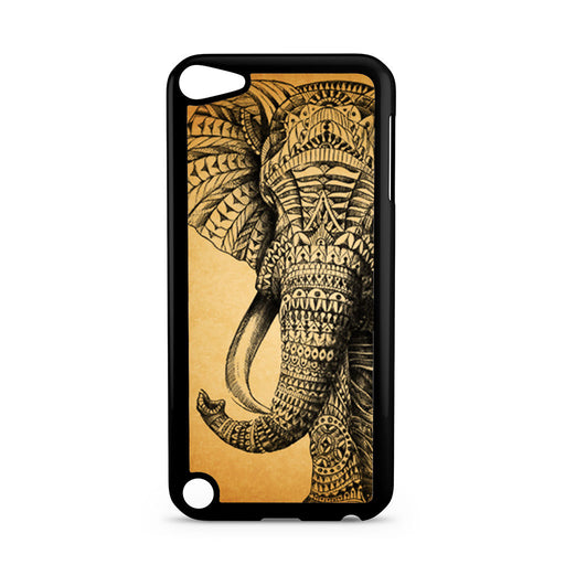 Zentangle Elephant iPod Touch 5 case