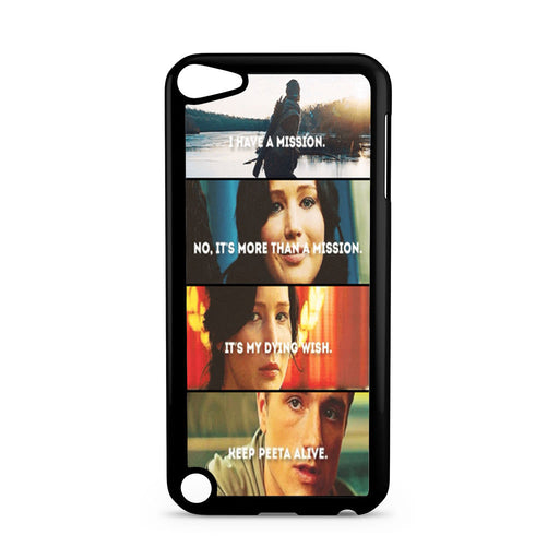The Hunger Games Quotes Mockingjay iPod Touch 5 case