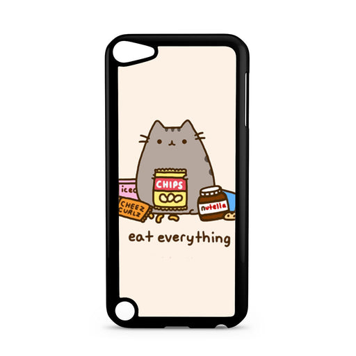 Pusheen The Cat Eat Every Thing iPod Touch 5 case