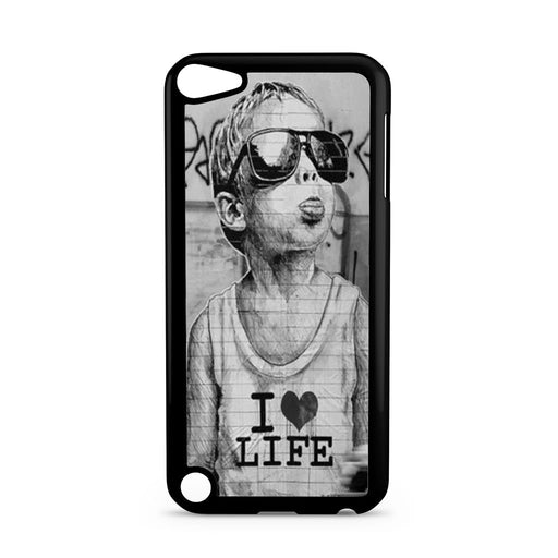 Banksy I Love Life iPod Touch 5 case