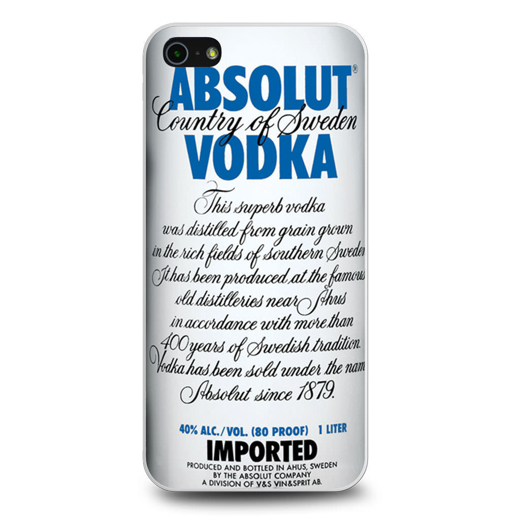 Absolut Vodka iPhone 5/5s/SE case
