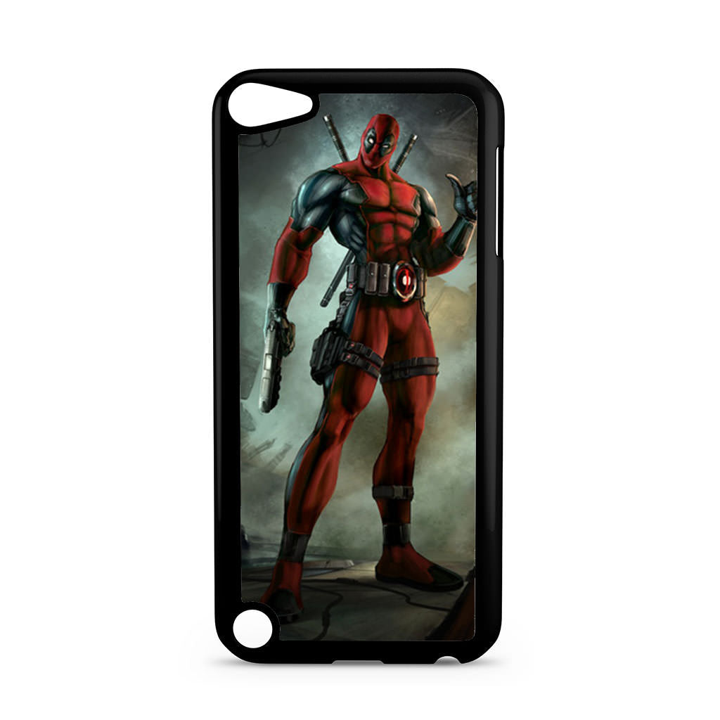 newest 952b5 83c0a Marvel Deadpool iPod Touch 5 case