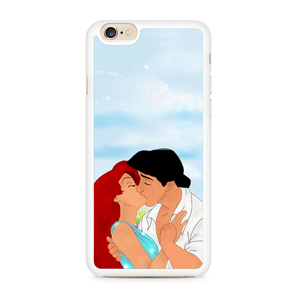 Ariel And Eric Kissing Disney iPhone 6/6s case