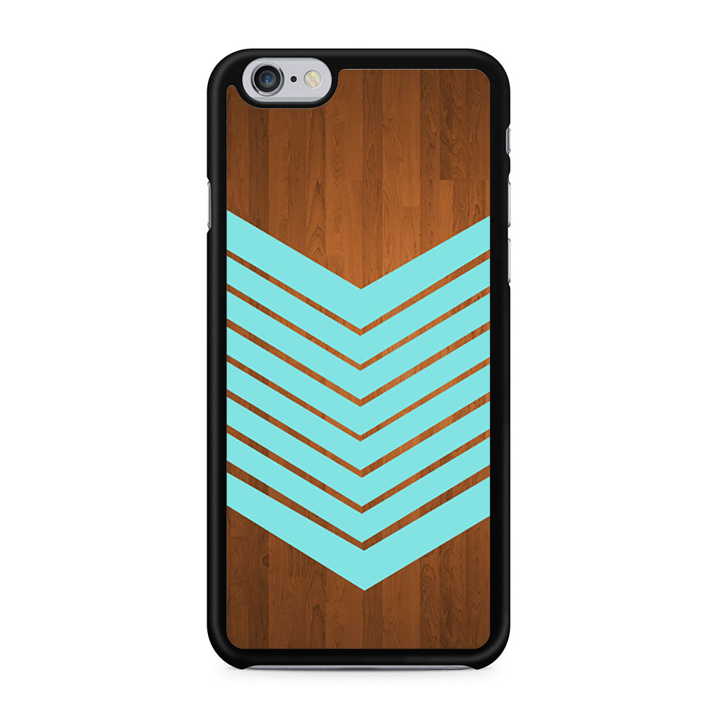 Arrow Blue Teal Wood iPhone 6/6s case