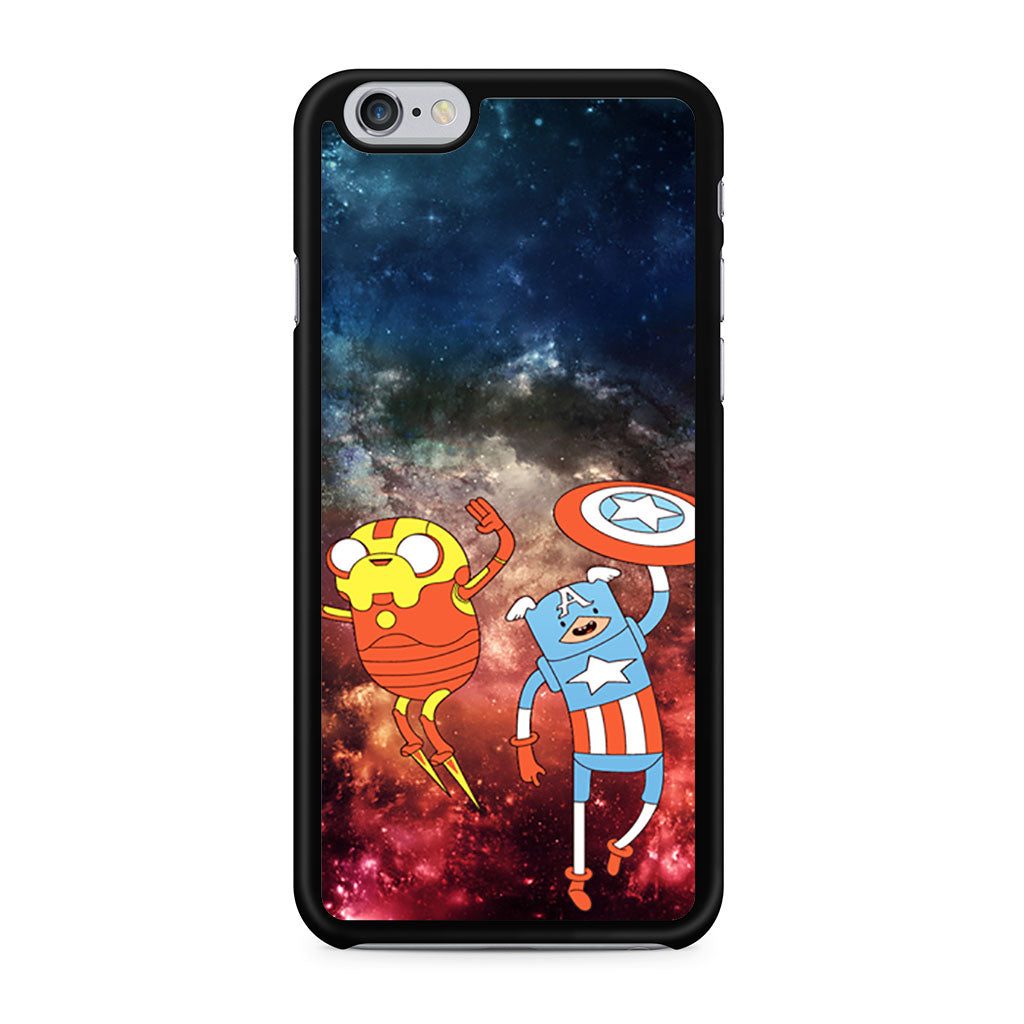 Adventure Time Avenger In Galaxy Space iPhone 6/6s case
