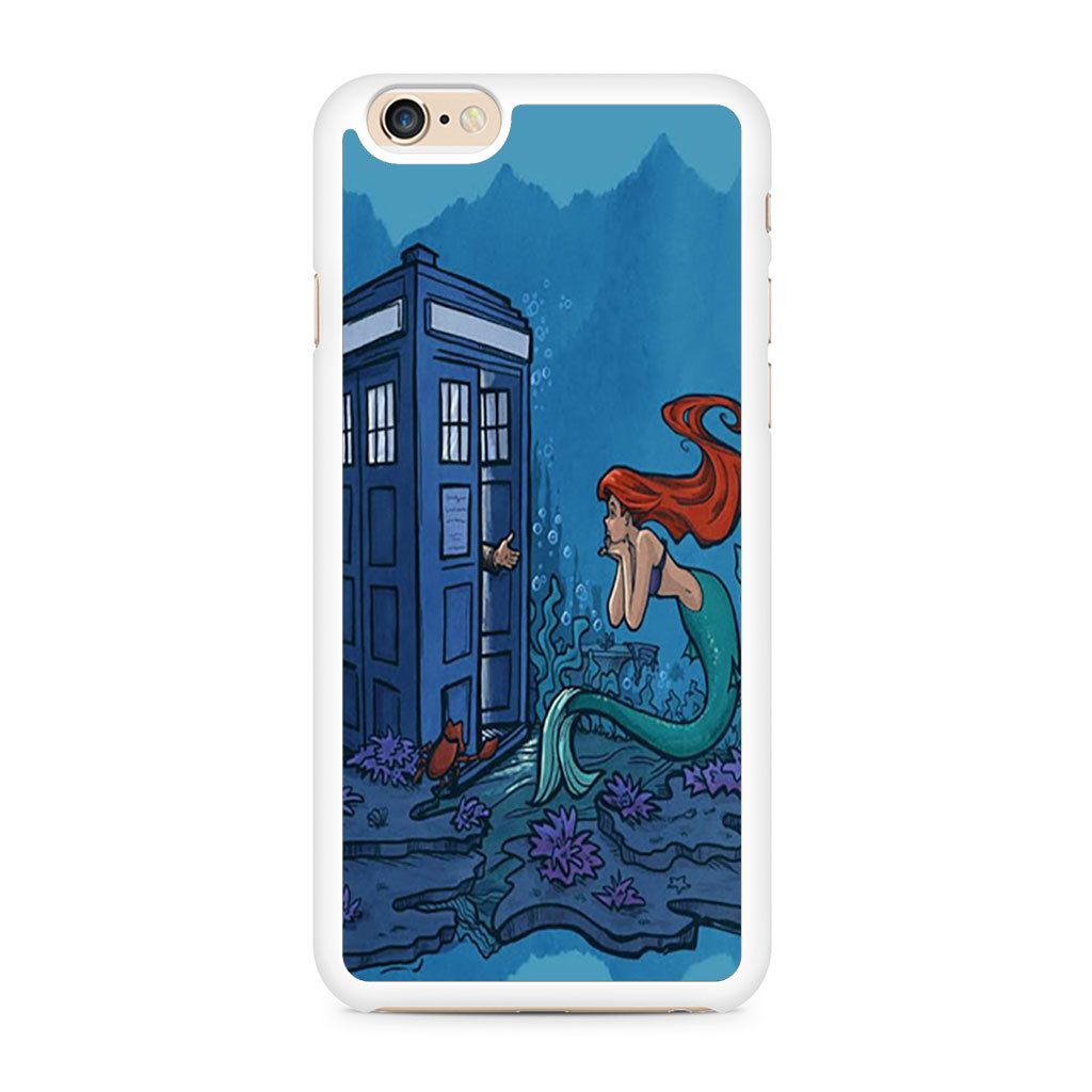 Ariel Mermaid Tardis iPhone 6/6s case