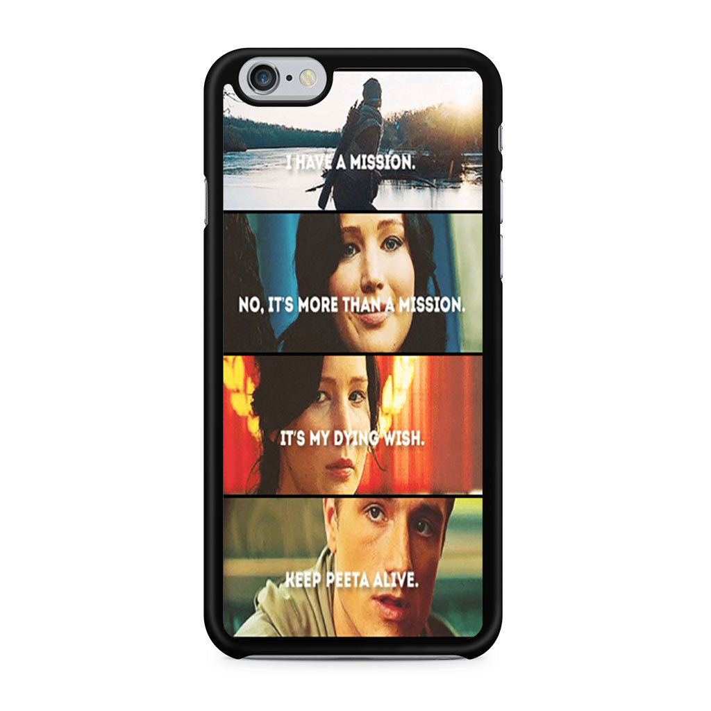 cheap for discount 0f18f 361e0 The Hunger Games Quotes Mockingjay iPhone 6/6s case