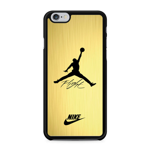 Air Jordan Flight Signature Nike Gold iPhone 6/6s case