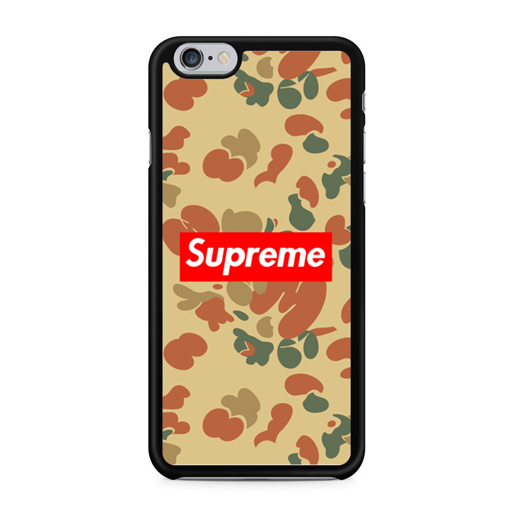 huge selection of b9829 14285 Supreme Camo iPhone 6/6s case