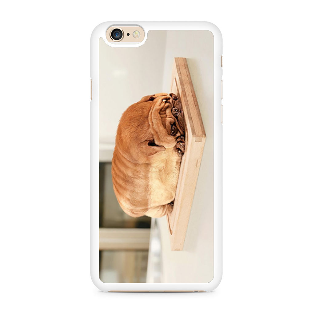 Pug Loaf of Bread Cute Funny iPhone 6 6s case — Case Persona 7e5acff78d12