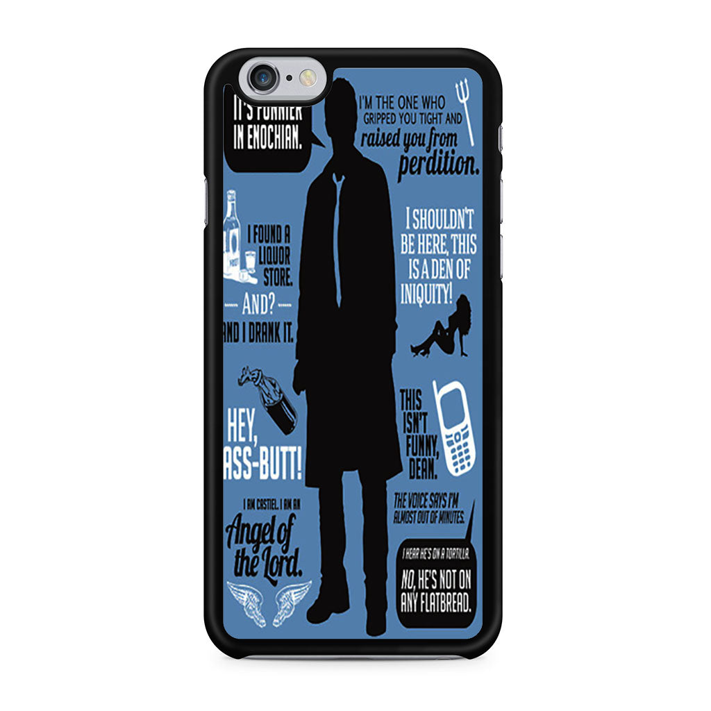 Supernatural Quote Wording Art 2 iPhone 6/6s case