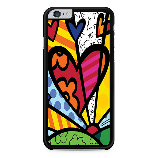 Romero Britto Pop iPhone 6 6s Plus case