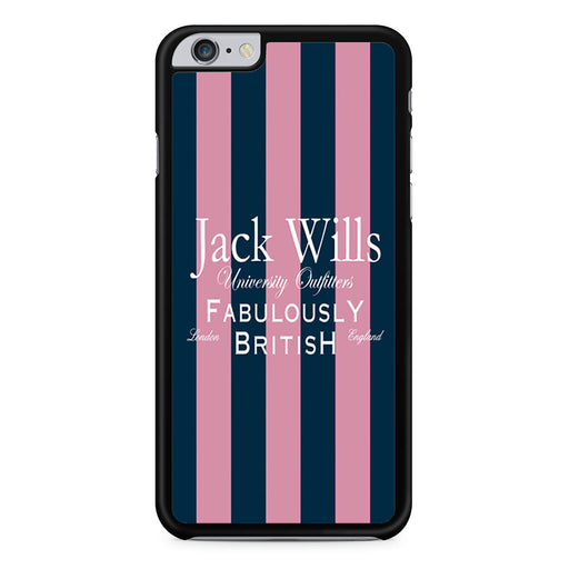 Jack Wills Stripes Pattern iPhone 6 6s Plus case