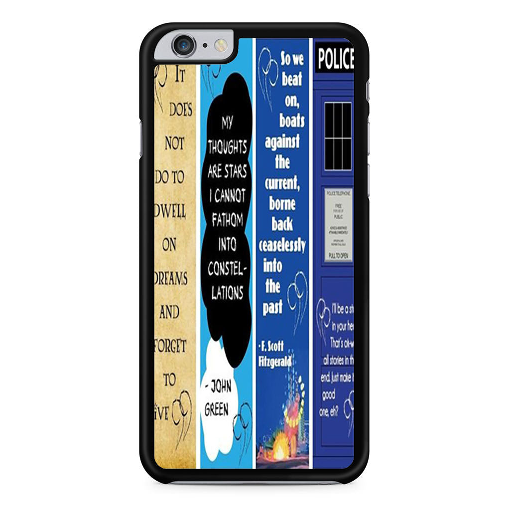 best service 5b9c6 b3cd5 Doctor Who Great Gatsby Fault In Our Stars Quote iPhone 6 Plus / 6s Plus  case