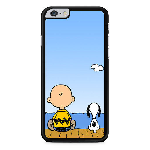 Snoopy And Charlie Brown iPhone 6 6s Plus case