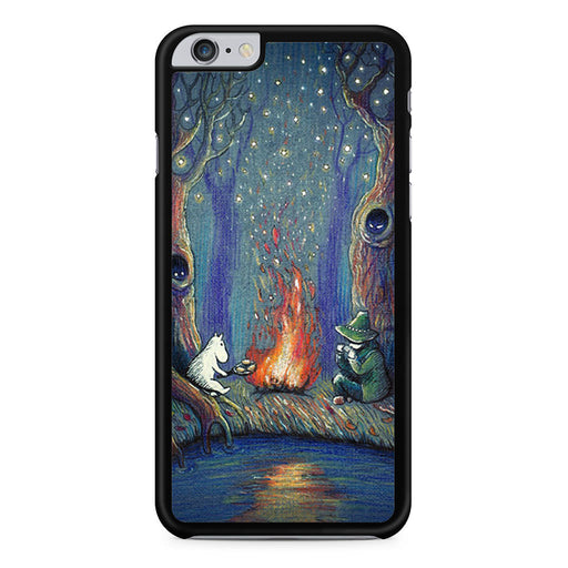 Snufkin and Moomin's Night iPhone 6 6s Plus case