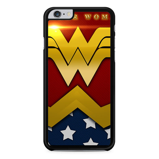 Wonder Woman Logo iPhone 6 6s Plus case
