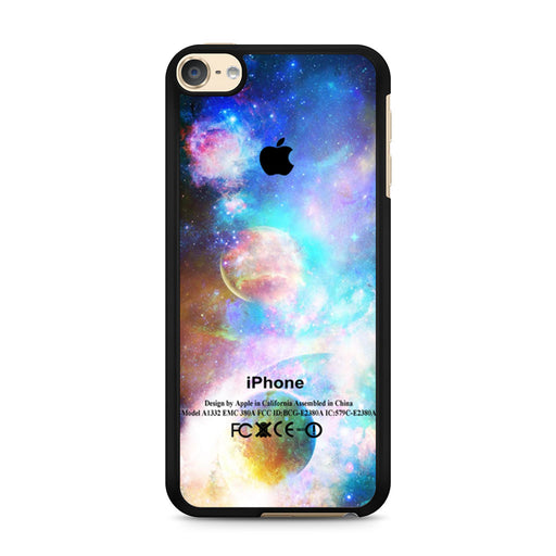 Galaxy Space Apple iPod Touch 6 case