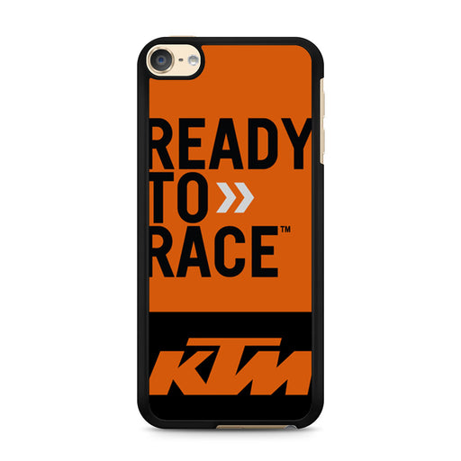 KTM Ready To Race Bike Dirt MX iPod Touch 6 case