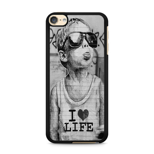 Banksy I Love Life iPod Touch 6 case