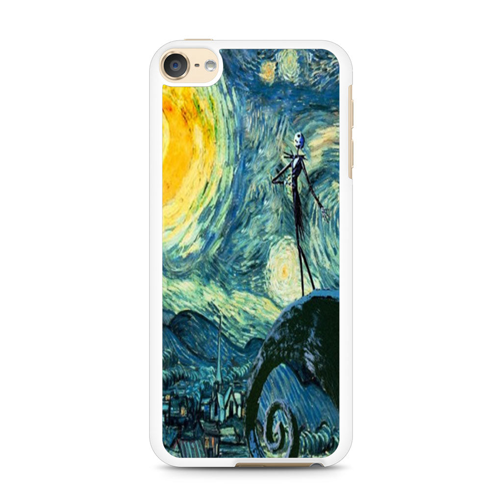 Starry Night Nightmare Before Christmas iPod Touch 6 case — Case Persona