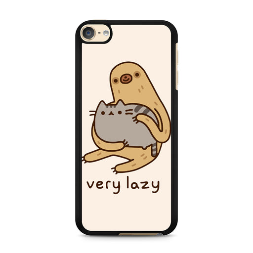 Pusheen Cat And Sloth iPod Touch 6 case