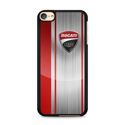 Ducati Corse Red Logo iPod Touch 6 case