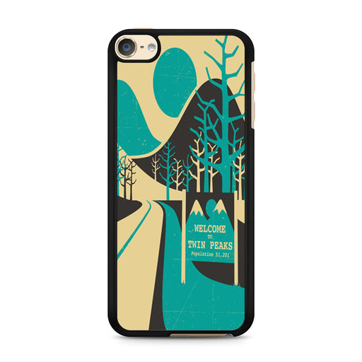 Welcome To Twin Peaks iPod Touch 6 case