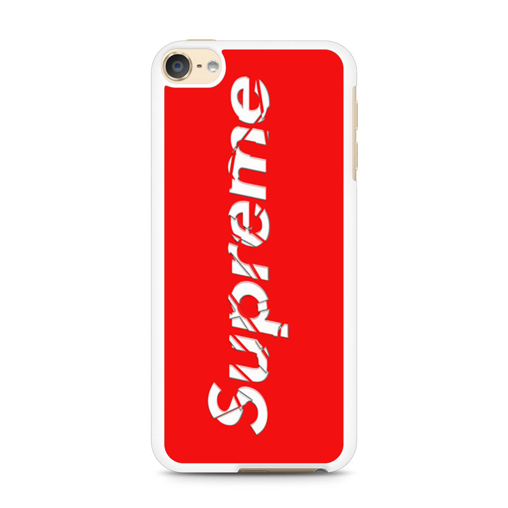 brand new 88db8 d3d52 Supreme iPod Touch 6 case