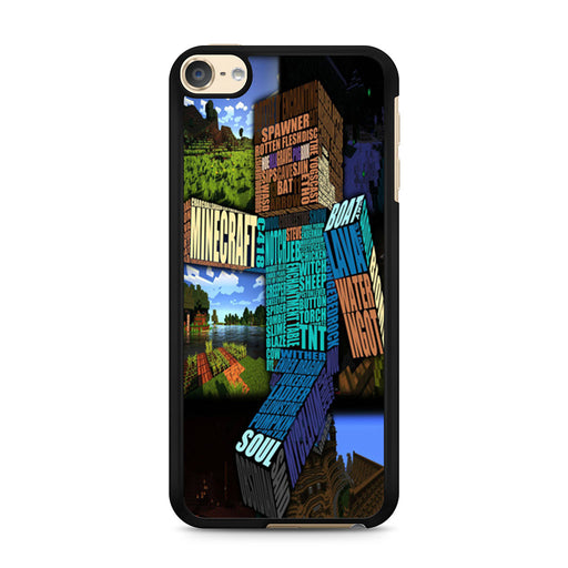 Minecraft iPod Touch 6 case