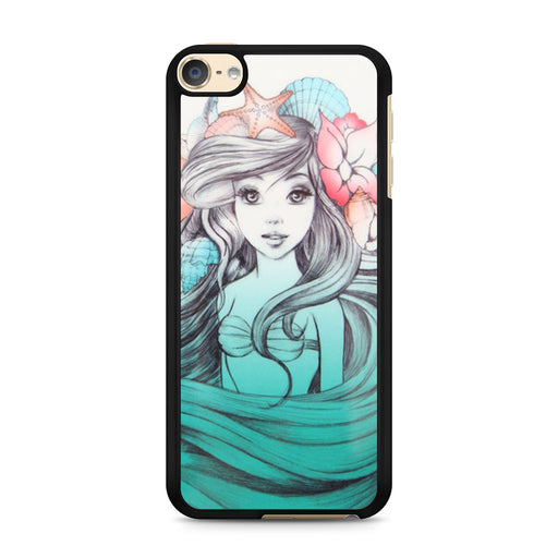 Shells and Starfish Little Mermaid iPod Touch 6 case