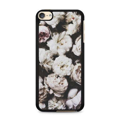 Cute Rose Floral Hipster Art iPod Touch 6 case