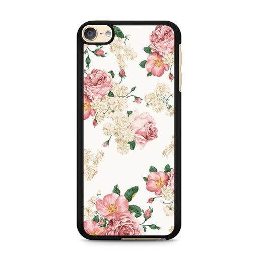 Sweet Flowers Patterns iPod Touch 6 case