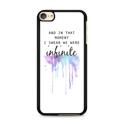 The Perks of Being a Wallflower Quote iPod Touch 6 case
