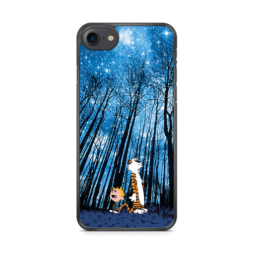 Calvin and Hobbes Forest Stargazing iPhone 7 case