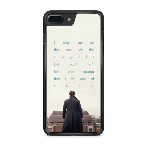 BBC Sherlock Quote Benedict Cumberbatch iPhone 7 Plus case