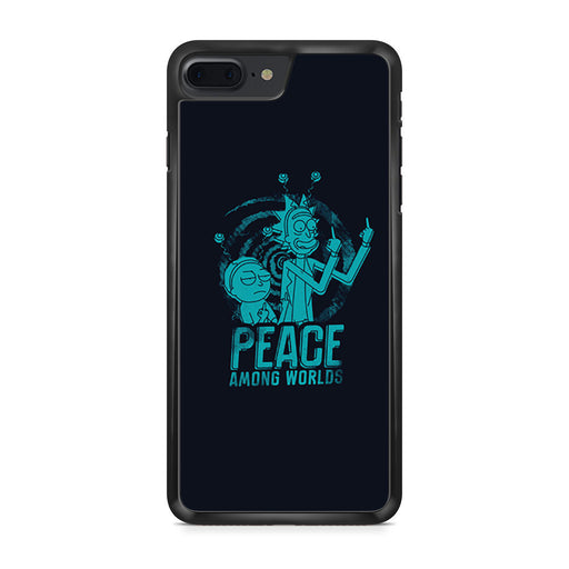 Rick and Morty Peace Among Worlds iPhone 7 Plus case