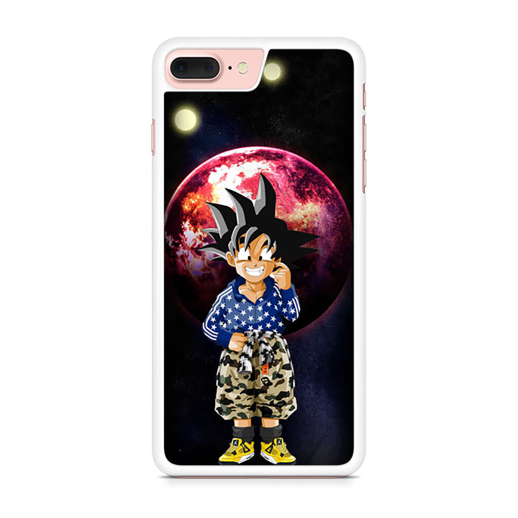 official photos 0a882 83c0c Dragon Ball Z Goten Bape Camo Jordan iPhone 7 Plus case