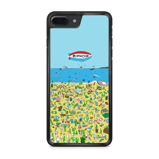 RipNDip Lord Nermal Cat Where's Waldo iPhone 7 Plus case