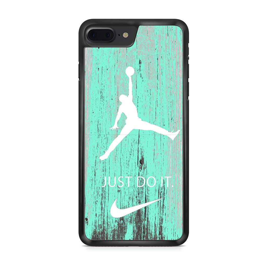 Nike Jordan Mint Wood iPhone 7 Plus case