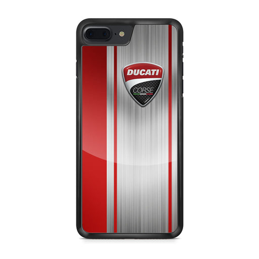 Ducati Corse Red Logo iPhone 7 Plus case