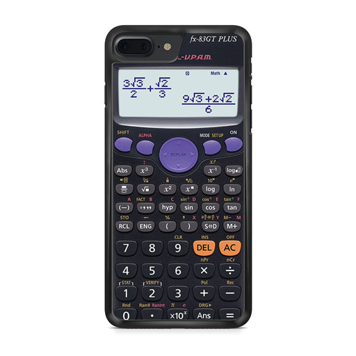 Casio Retro Calculator iPhone 7 Plus case