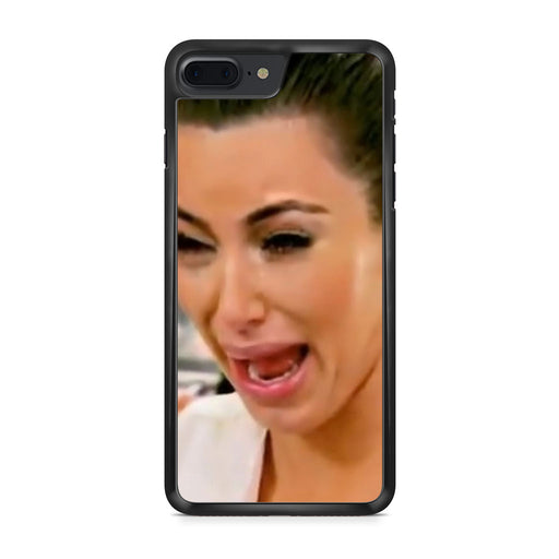 Kim Kardashian Cry Ugly Face iPhone 7 Plus case