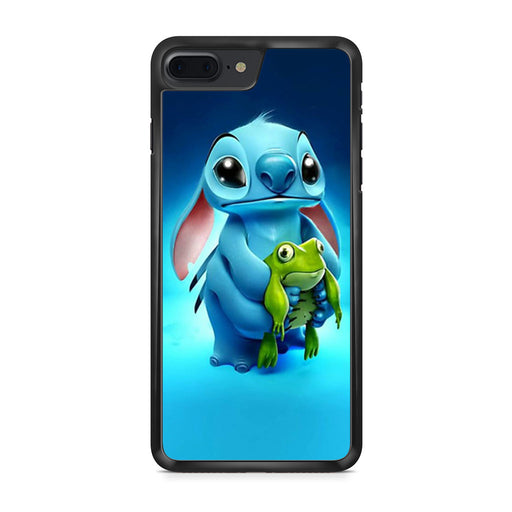 Stitch and Frog Disney iPhone 7 Plus case